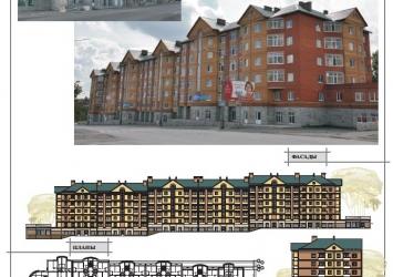 Жилой дом по ул. П.Коммуны г.Березники