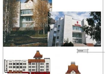 Здание Мосбизнесбанка в г. Березники